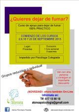 Cursos para dejar de fumar (Septiembre2013)