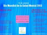 DÍA DE LA SALUD MENTAL2013